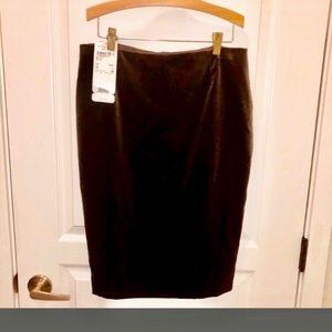 PRICE DROP Escada Couture Velvet Pencil Skirt